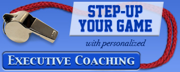 Step Up Your Game with personalized Executive Coaching